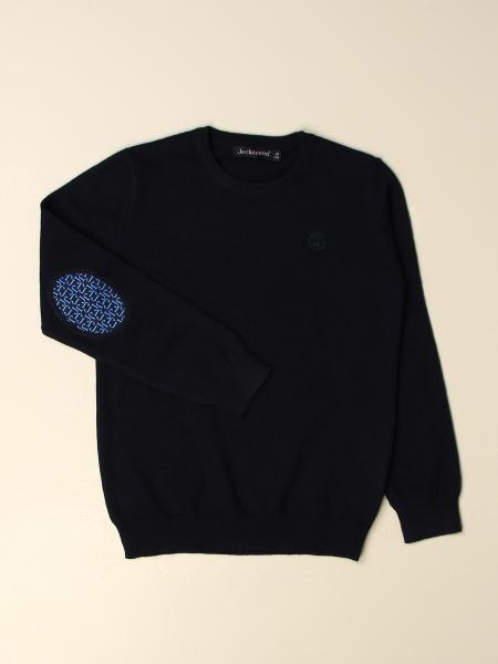 Jeckerson pullover with contrasting patches