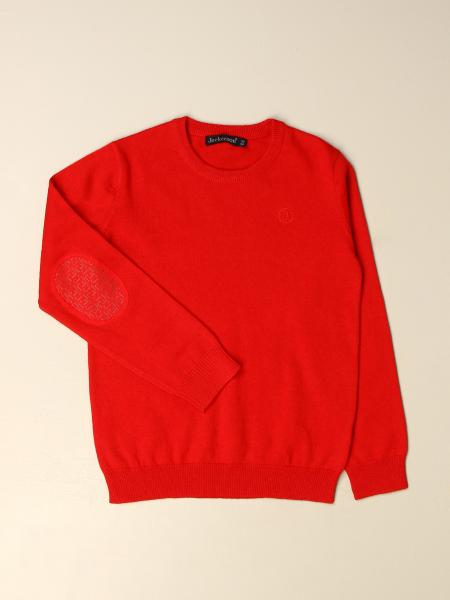 Jeckerson kids: Jeckerson basic pullover in wool and cotton