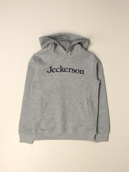 Jeckerson bambino: Felpa Jeckerson in cotone con logo