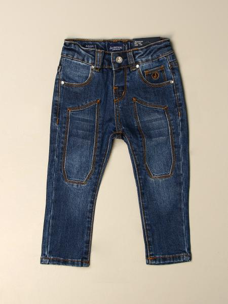 Jeckerson jeans in denim with patches