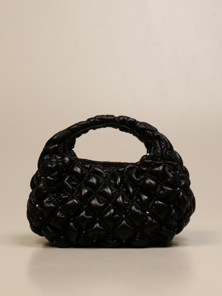 Valentino Garavani: Valentino Garavani Spikeme Hobo bag in nappa leather