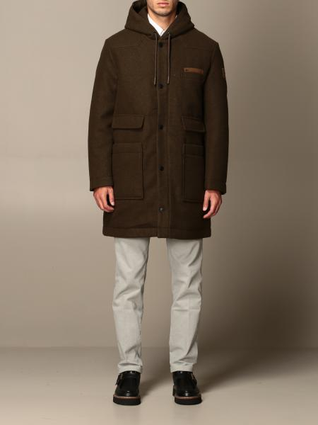 Off Wear cloth coat with hood