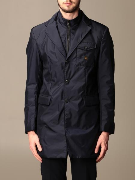 Refrigiwear: Single-breasted Refrigiwear jacket with bib