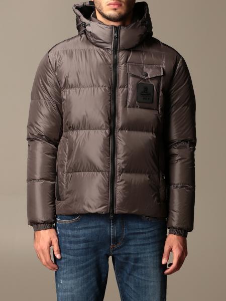 Refrigiwear: Refrigiwear down jacket with hood and logo