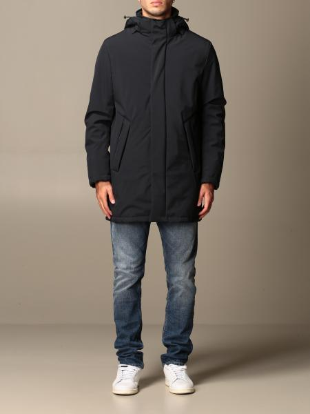 Parka Refrigiwear in nylon stretch medio con cappuccio