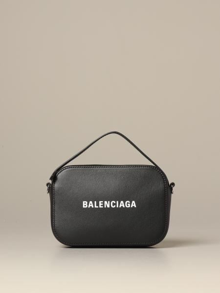 Borsa Everyday camera bag Balenciaga in pelle