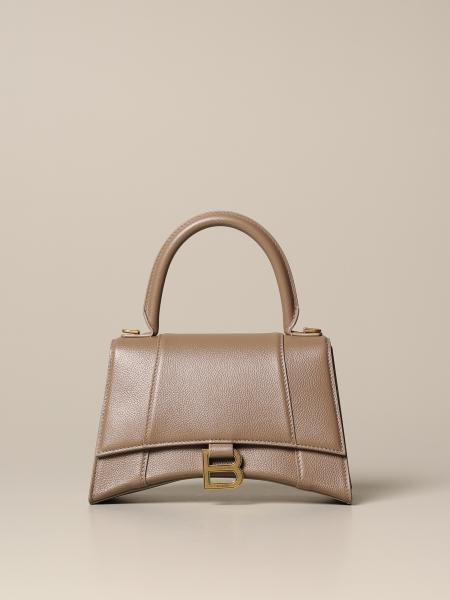 Balenciaga Hourglass Top handle Tasche aus Leder