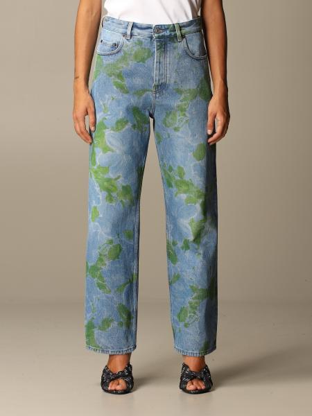 Balenciaga: Balenciaga floral patterned jeans