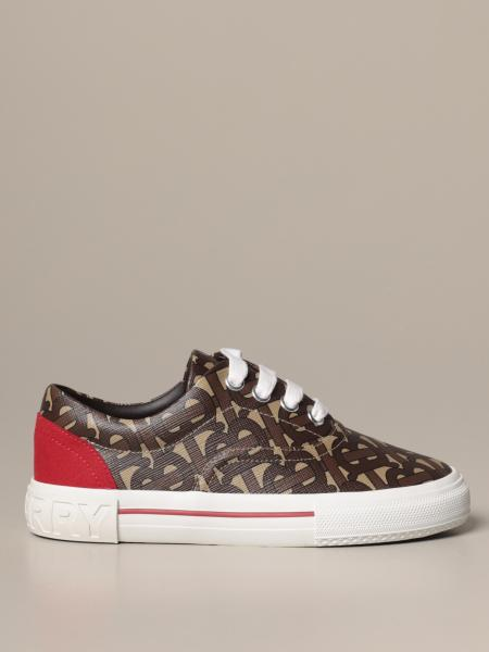 Burberry sneakers in e-canvas with TB monogram print