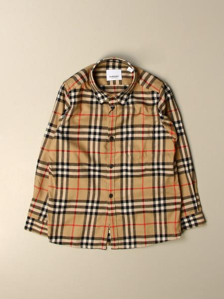 衬衫 儿童 Burberry