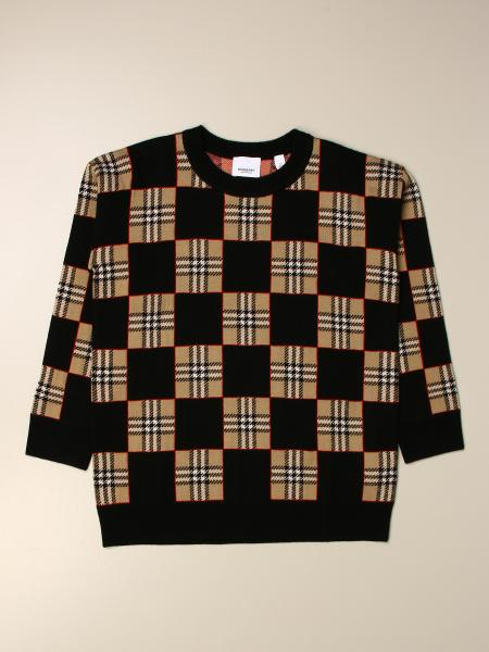 Burberry: Burberry checkered sweater