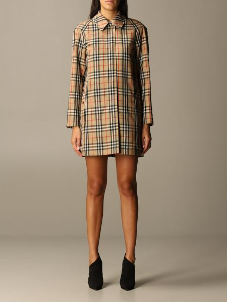 Burberry women: Coat women Burberry