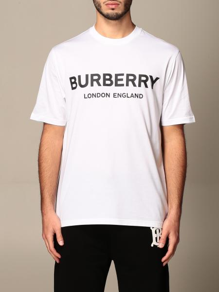 Burberry: T-shirt homme Burberry