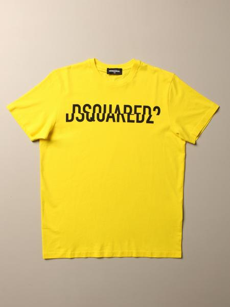 T-shirt Dsquared2 Junior in cotone con logo