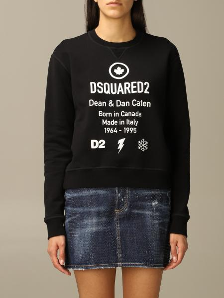 Sweatshirt damen Dsquared2