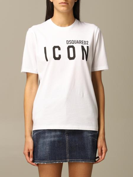 Dsquared2 crew neck t-shirt with Icon print