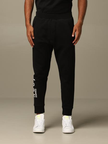 Pantalone jogging Icon Dsquared2 con logo