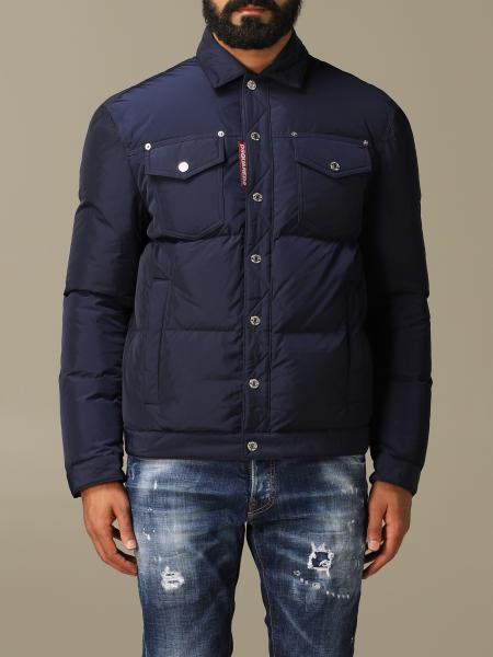 Dsquared2 down jacket in lightly padded nylon