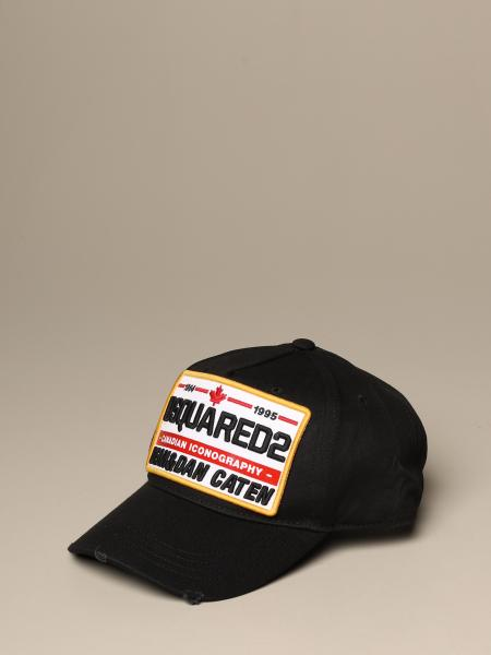 Dsquared2 baseball cap with patch
