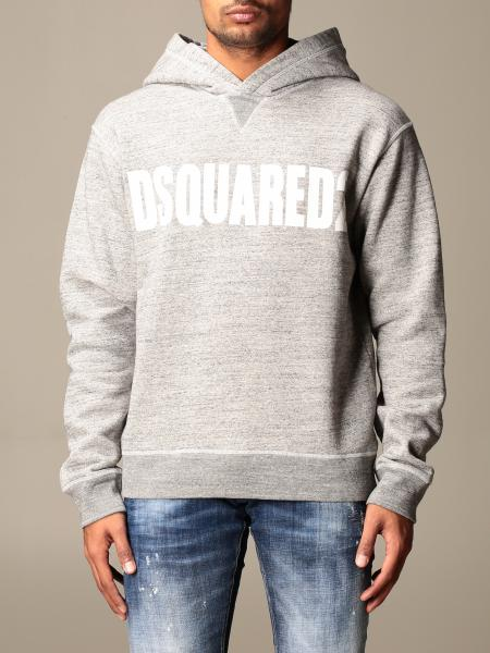 Dsquared2 sweatshirt with hood and logo