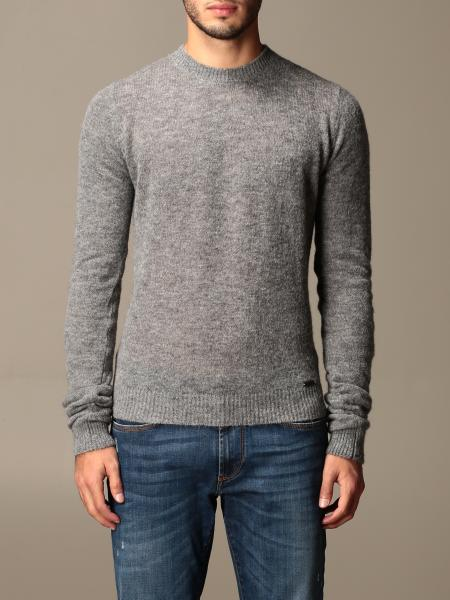 Dsquared2 crewneck sweater in Alpaca and wool blend
