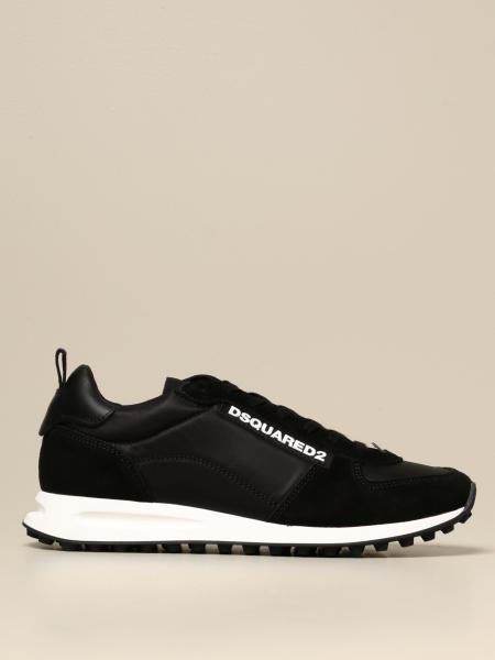 Dsquared2 sneakers in nylon and suede
