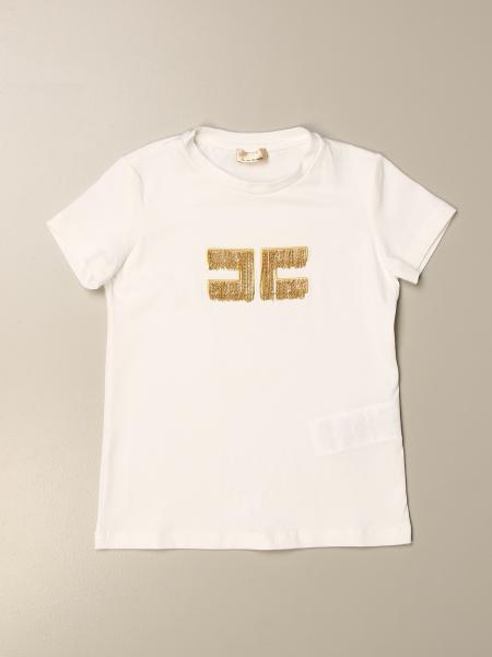 T-shirt Elisabetta Franchi con logo di micro catene