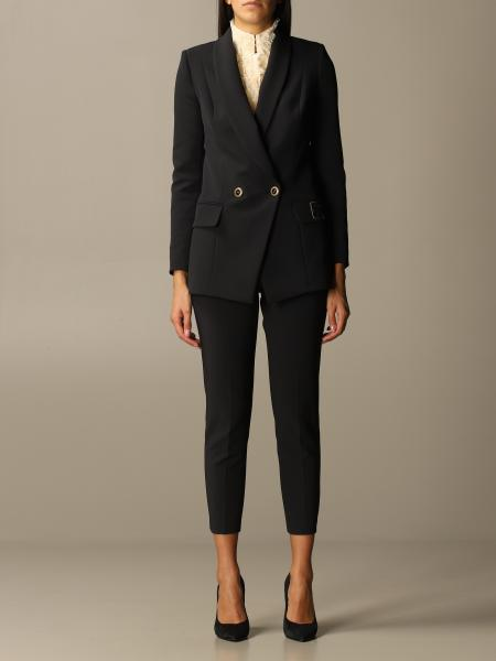Elisabetta Franchi slim fit jacket + trousers set