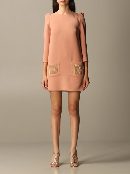 Elisabetta Franchi women: 3/4 cady sleeve with fringed logo