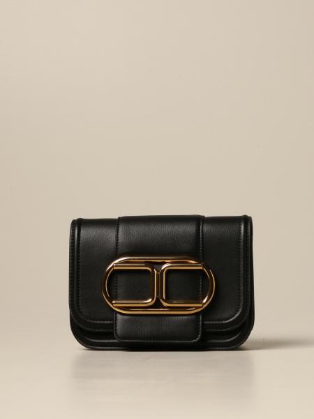 Elisabetta Franchi women: Elisabetta Franchi bag with metallic logo