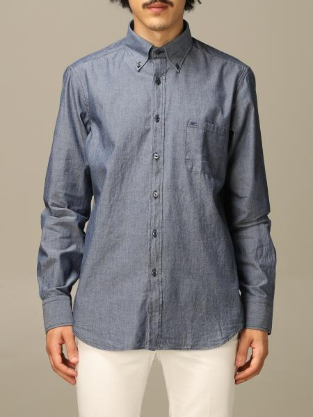 Chambray botton down slim