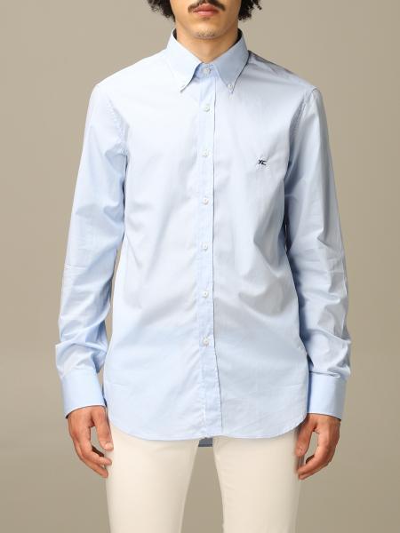 Camicia XC in cotone con logo ricamato