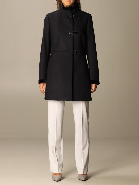 Virginia Fay coat in wool blend cloth