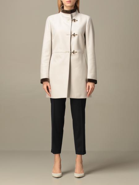 Virginia Fay coat in wool blend cloth