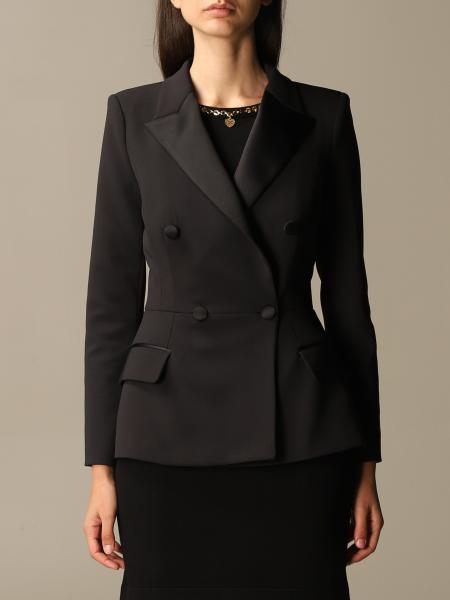 Elisabetta Franchi double-breasted tuxedo jacket