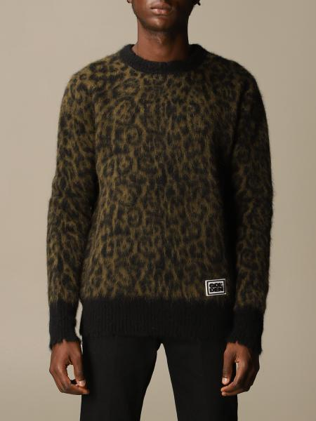 Golden Goose: Golden Goose pullover in mohair and animalier Alpacap