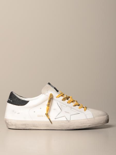 Sneakers Superstar classic Golden Goose in pelle e camoscio