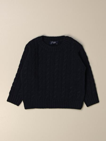 Il Gufo cable knit wool sweater
