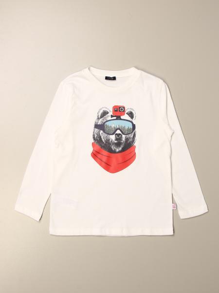 Il Gufo: Il Gufo t-shirt with bear print