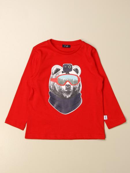 T-shirt Il Gufo con stampa orso