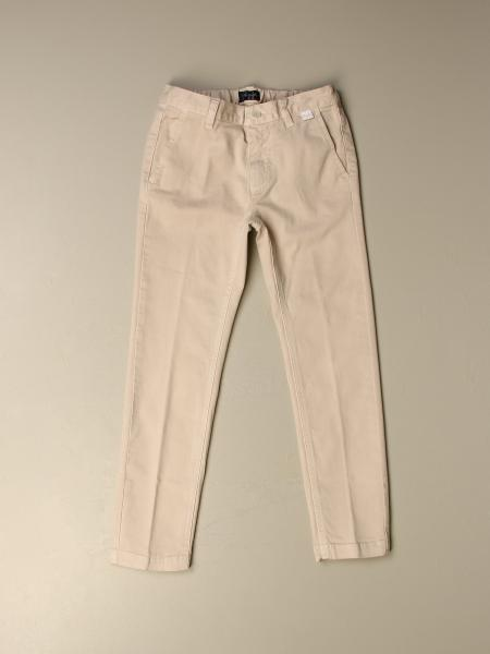 Il Gufo trousers in gabardine with america pockets