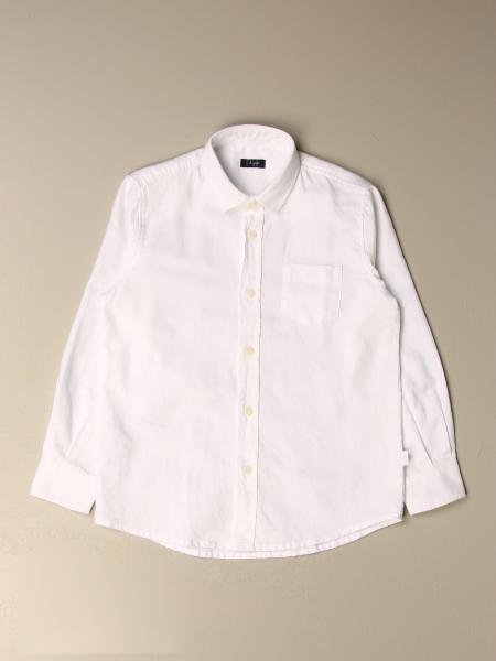 Il Gufo: Il Gufo oxford shirt in cotton with Italian collar