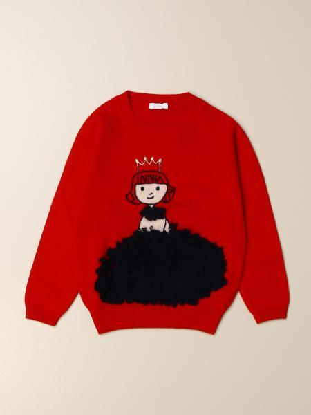 Il Gufo: Il Gufo wool sweater with queen