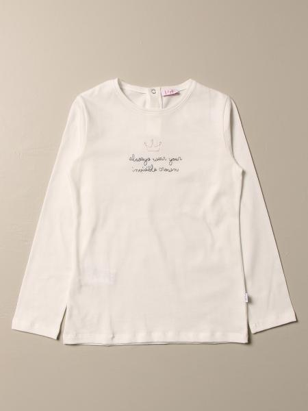Il Gufo t-shirt in cotton with embroidered writing