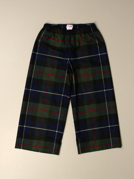Il Gufo: Il Gufo trousers in check viscose blend