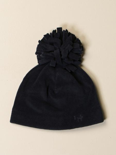 Il Gufo fleece hat with pompom