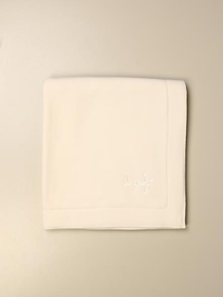 Il Gufo fleece blanket with embroidered logo