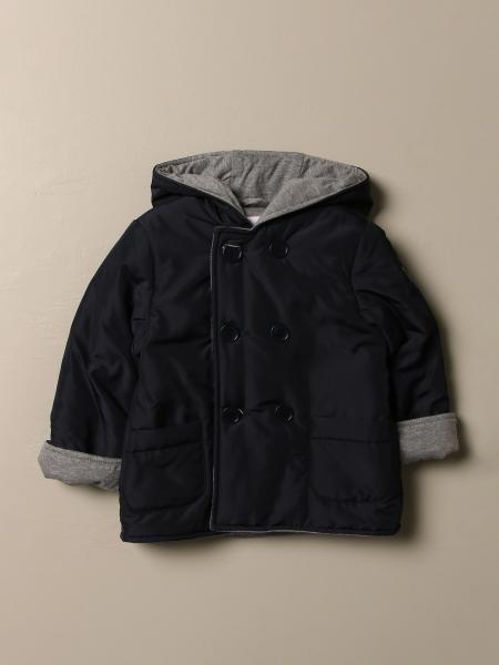 Il Gufo double-breasted down jacket with hood
