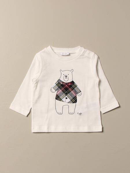 Il Gufo t-shirt in cotton with bear print