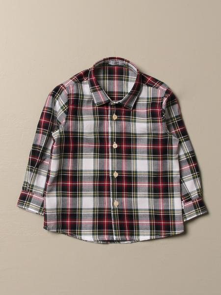 Il Gufo shirt in check cotton